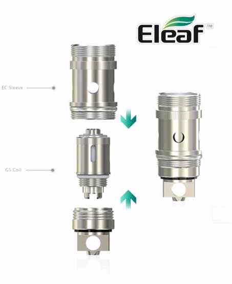 EC sleeves ELEAF adapter for Melo iJust