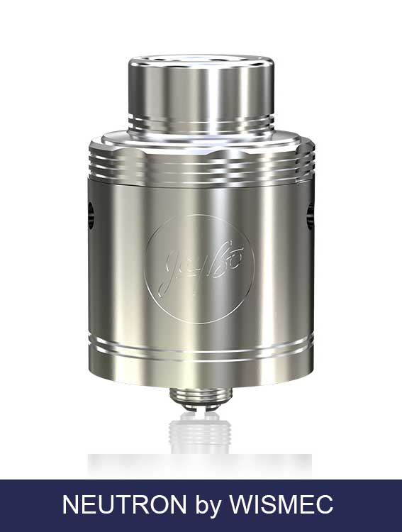 Neutron Wismec RDA 25mm JayBo design