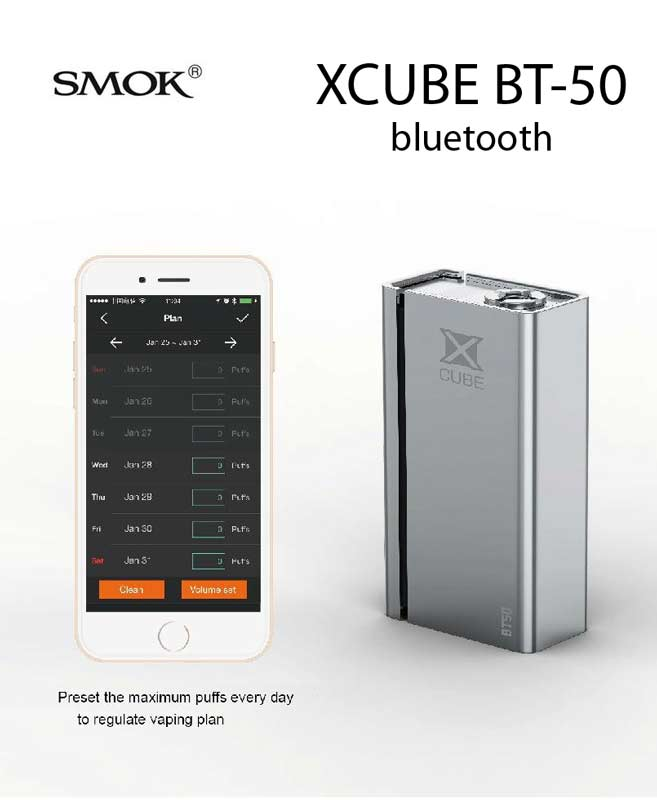 XCUBE BT-50 bluetooth 50W 2000mA SMOK