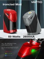 Ironclad box mod 50W 2600mA by Vaptio